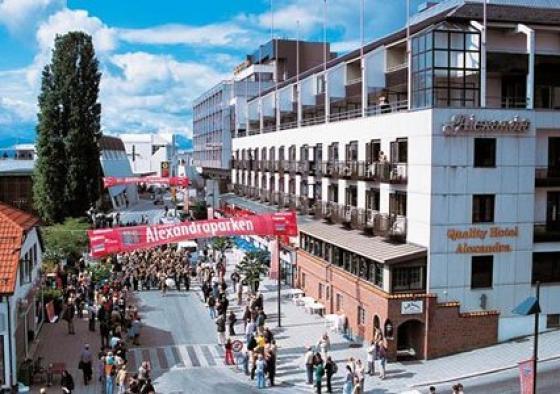 Quality Hotell Alexandra ligg i Molde sentrum. Foto: Quality Alexandra Hotel.