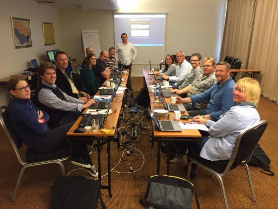 Frå workshopen. Foto: Geir Håvard Ellingseter, IKAMR.