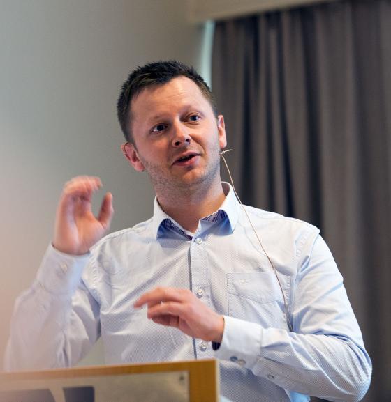 Rune Lothe, leiar ved IKA Hordaland. Foto: Ragnar Albertsen, Fylkesfotoarkivet i Møre og Romsdal.