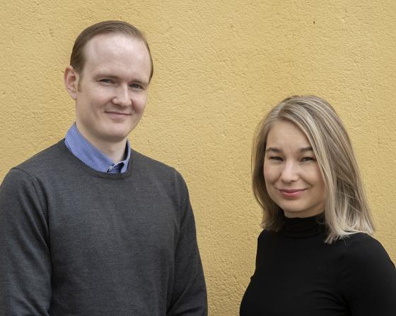 Henrik Gullaker og Thea Helen Rølsåsen. Foto: Anderson / SEDAK.